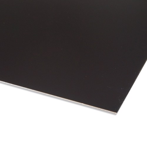 Black painted aluminium sheet Cut to your measurements